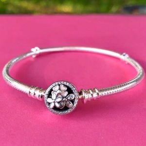 "Pandora Poetic Blooms Bracelet 7.5"" (19 cm)"